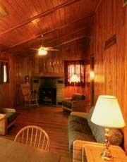 Cabin at Bluestone State Park