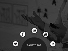 21 Intriguing Back to Top Buttons Social Icons, Things I Want, Buttons, Tops, Plugs