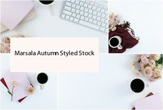 Marsala #Autumn #Styled Stock #Photos by Fempreneur Styled Stock on @creativemarket #Stock #Photography