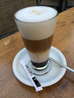 Un café caramel para poner la guinda a la tarde