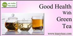 Green Tea Benefits, Wine Glass, Tableware, Health, Easy, How To Make, Dinnerware, Health Care, Green Tea Advantages