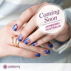 Jamberry is coming to Australia!!! Are you ready for a change? Do you want to work from home? Do you want to own your own business? Joining Jamberry was the best thing I have ever done for myself! I have had more success than I ever imagined, and I am having a blast doing it! I'm so lucky to be a part of such an amazing team!