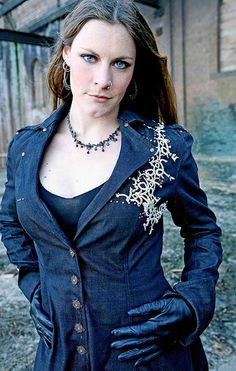 Floor Jansen - Nightwish. Such a lady, nice person who I really respect and admire. She can sing too!