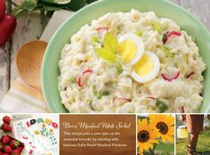 You might be skeptical when you first see this recipe. Who makes potato salad out of mashed potatoes after all? But one taste and we think you'll see why… because it's downright delicious! And without all the peeling and boiling associated with traditional potato salad, you'll get out of the hot kitchen sooner. That leaves time to head to the hammock with a good book and glass of lemonade!