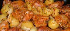 Frango Assado com Batatas - Veja a Receita: