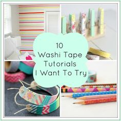 10 washi tape crafts to try