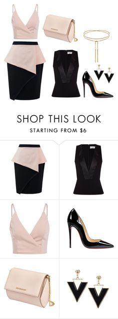 Без названия #1 by onshitikova on Polyvore featuring мода, Balenciaga, Christian Louboutin and Givenchy