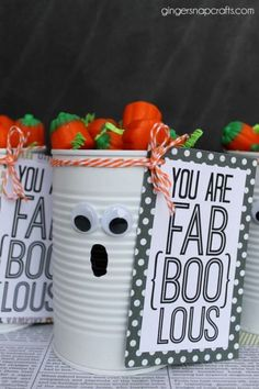Fa-BOO-Lous Printable from Eighteen25. 31 FREE Halloween Printables on Frugal Coupon Living. Halloween freebies for kids, adults and the home.