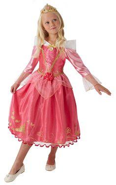 Prinsessa Ruusunen Deluxe. Tässä upeassa vaaleanpunaisessa prinsessamekossa prinsessa Ruususen tarinasta tutut elementit kiertävät helman kuvioinnissa. Lisäksi deluxe-luokkaisen naamiaisasun koristelu ja tyyli on viimeistelty tyyliin, joka kelpaa hienoimmallekin prinsessalle. Ja tottahan toki naamiaisasuun kuuluu myös prinsessan tittelille sopiva tiara.