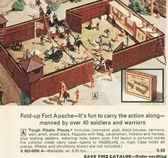 We had this set - in fact, I think we still do!  used to put the hamster inside and let him mow down the army men.