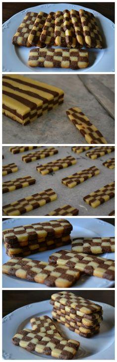 Bicolor Cookies Recipe - Click for Read Recipe