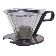 Primula Seneca 1-Cup Pour Over Coffee Maker - Temperature Safe Glass Cone and Doubled Lined Stainless Steel Mesh Filter - Universal Fit - Dishwasher Safe - Black ** Discover this special product, click the image : Coffee Maker