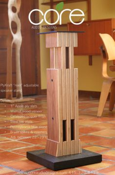 Speaker Stands   Core Audio Designs