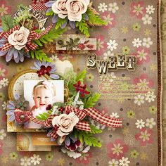 "Photo from album ""RoseyPosey_PansyMaggie"" on Yandex. Christmas Scrapbook, Cool Fonts, Views Album, Floral Wreath, Yandex Disk, Wreaths, Beautiful, Nice, Floral Crown"