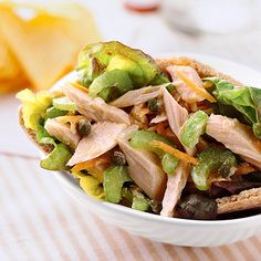 Tuna Salad Pockets USE WITH WRAPS OR PITTA POCKETS OR IN A DISH