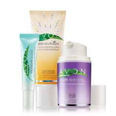Avon Elements Trio Bring your skin back to life this summer season with this trio set for a more radiance and moisturized face. AvonRep shirlean walker