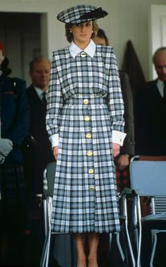 Princess Diana in Scotland in 1989