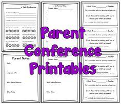 Parent Conference Tips and Printables Parent Teacher Interviews, Parent Teacher Communication, Parent Teacher Conferences, Welcome To School, I Love School, Notes To Parents, Parents As Teachers, Teacher Helper, Science Classroom