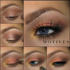 Blue Eye Bombshell | Motives Cosmetics #eyeshadow for blue eyes
