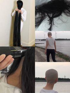 Long Hair Cuts, Long Hair Styles, Shave Her Head, Rapunzel, Shaving, Ponytail, Hair Beauty, Floor, Woman