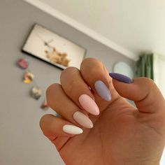 Beautiful colors for nails - ChicLadies.uk - Beautiful colors for nails – ChicLadies.uk Beautiful colors for nails – ChicLadies. Aycrlic Nails, Trim Nails, Cute Nails, Pretty Nails, Coffin Nails, Cute Summer Nails, Pastel Nails, Pink Nails, Green Nails