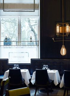 Massimo in Mayfair, an Italian restaurant designed by David Collins (he's also the visual impresario of the Wolseley, the city's grandest cafe)