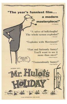 Mr. Hulot's Holiday, 1953 Premium Poster