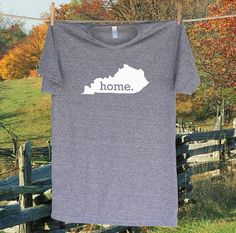 Kentucky Home State Tee Shirt TShirt  Unisex Sizes by HomelandTees, $21.95
