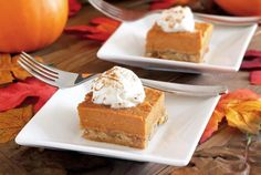 Delicious, gluten-free and paleo Pumpkin Pie Bars recipe with no refined sugars. Rich and creamy filling with a nutty and flavorful baked crust. Easy to make too!