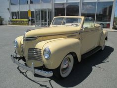 1940 Plymouth Deluxe Covertible Coupe