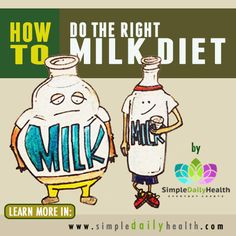 Milk Diet and How To do the Right Milk Diet