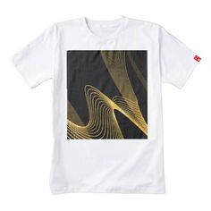 (Gold Abstract - Custum BG- Zazzle HEART T-Shirt) #Abstract #Animation #Background #Black #Custumize #Future #Glitter #Gold #Lematworks #Line #Modern #Motiongraphics #Shiny #Stylish #Visual is available on Funny T-shirts Clothing Store   http://ift.tt/2g0BA8G