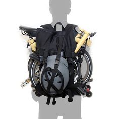 Amazon.com : Lifting Backpack for Brompton : Sports & Outdoors