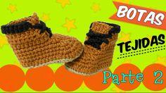 Botas tejidas a crochet   | parte 2.2