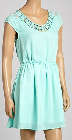 Baby blue drees for
