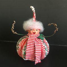 Art Textile, Comme, Creations, Miniatures, Christmas Ornaments, Holiday Decor, Illustration, Studio, Gourds