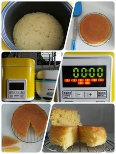Singapore Home Cooks: Mini Rice Cooker Sponge Cake by Shirleen Tan