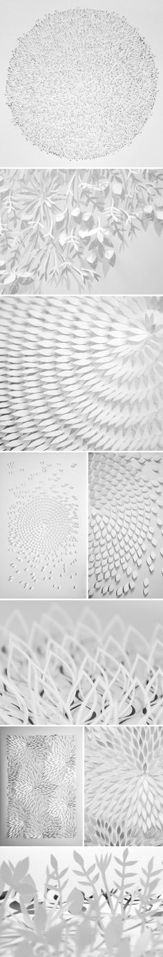 The Jealous Curator /// curated contemporary art /// anna maria bellmann Kirigami, Architecture Origami, Paper Art, Paper Crafts, Up Book, Elements Of Art, Opus, Paper Design, Installation Art