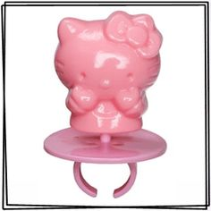 Hello Kitty Lollipop Rings - 24 Count Box