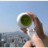 Tomada solar portátil permite carregar dispositivos em qualquer lugar