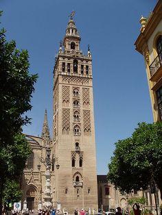 Catedral de Santa María de la ciudad de Sevilla, en Andalucía (España).