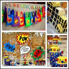 super party for superheroes