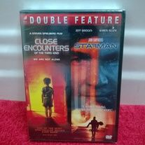 Brand new, factory sealed set of 2 science fiction movies on dvd!  Titles are:  Close Encounters of the Third Kind, and Starman.  Shipping is included!