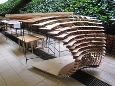 AY SEM 2 – Digital Fabrication in Architecture Group Parametric Architecture, Pavilion Architecture, Parametric Design, Sustainable Architecture, Residential Architecture, Contemporary Architecture, Amazing Architecture, Interior Architecture, Tectonic Architecture