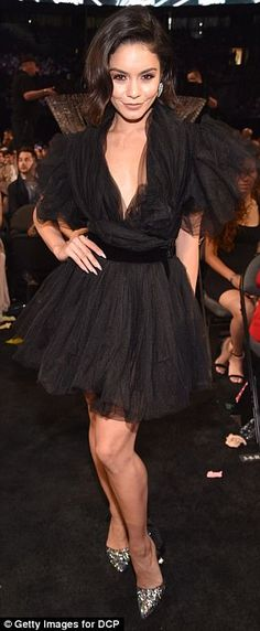Vanessa Hudgens changes EIGHT times during BBMA's #dailymail