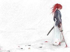 Rurouni Kenshin by *janey-jane on deviantART Rurouni Kenshin, Kenshin Anime, Sad Anime, Manga Anime, Anime Art, Samurai, Kenshin Le Vagabond, Era Meiji, Anime Stories