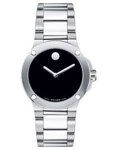 Movado Ladies Sports Edition Extreme - Black Museum Dial - Flat Dot Accents