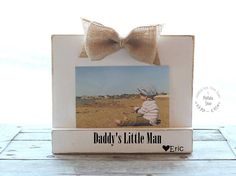 Dad Gift Fathers Day Gift from Son Dad Photo Frame Dad Picture