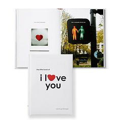 When words just aren't enough, this Little Book of I Love You does the talking. $12.95 #zgallerie