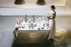 Urban Geometric Chic Heiraten mit Spartipps von Jane Weber | Hochzeitsblog The Little Wedding Corner